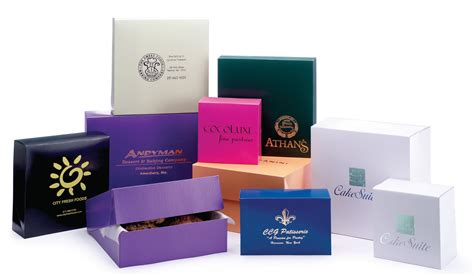 Color Box 4 In 1 color cake boxes pastry boxes and cookie boxes box and