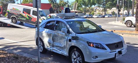 self driving car google s self driving car is the victim in a serious crash