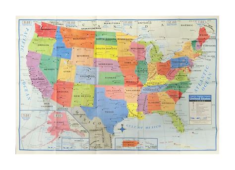 usa size map usa united states map poster size wall decoration large