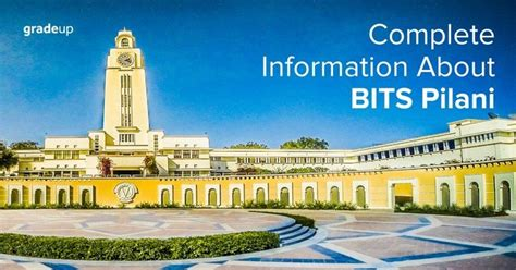Bits Pilani Cutoff Mba by Bits Pilani Cut Fee Courses Admission Placements