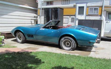 1969 corvette project for sale craigslist 1969 corvette convertible project autos post
