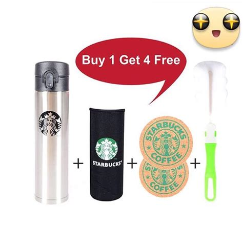 Termos Starbuck Ready Stok 2 color x starbucks vacuum flask 400ml ready stock end 5