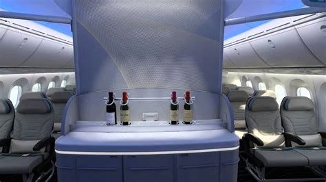 boeing 787 dreamliner interior fly through