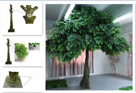 artificial trees home decor uvg china home decor wholesale green banyan large artificial tree for play center landscaping gre055