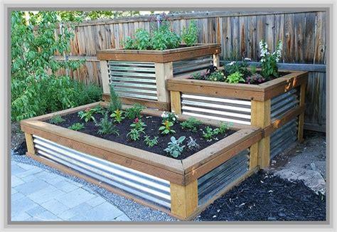 corrugated metal garden beds 8 best ideas about veggie garden beds on pinterest