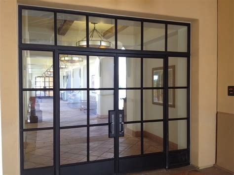 Steel Front Doors With Windows Steel Doors And Windows