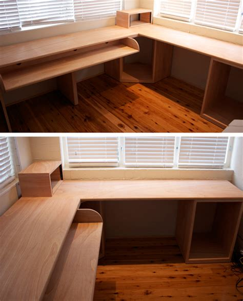 Custom Made Plywood Sound Desk Epic Pinterest Plywood Office Desk