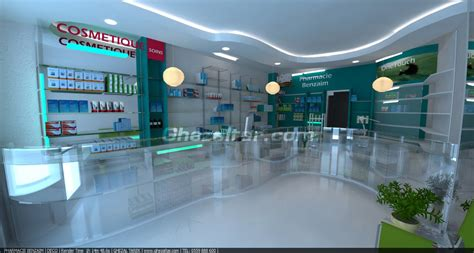 Facade Pharmacie Moderne by Holande Ghezaltar