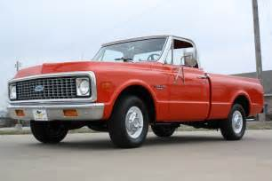 1971 chevrolet custom 10 deluxe shortbed truck