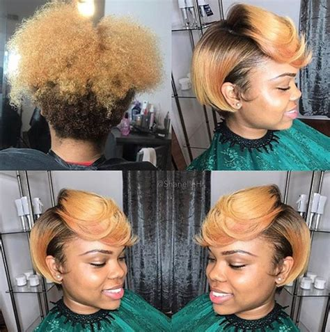 short pressed hairstyles nice silk press via shanelleh https