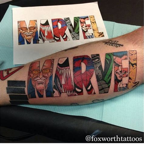 marvel tattoo designs 30 amazing marvel ideas inspiration