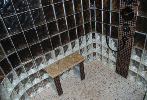 5 bench walk 5 unique glass block shower designs in california