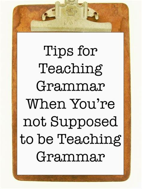 the perfect pop up punctuation composition classroom tips for teaching grammar when you re not supposed to be teaching grammar