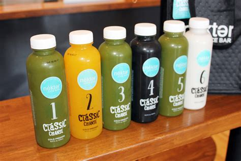 Nekter Detox by Nekter Juice Bar And Sneaky Spinach Giveaway When In
