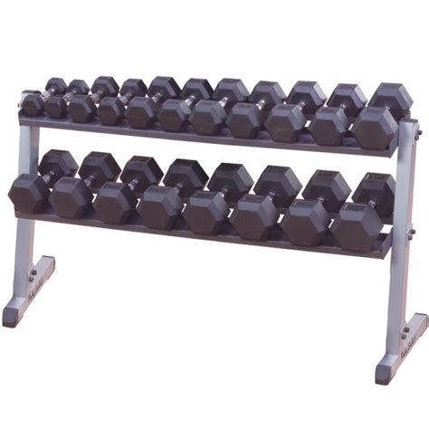 Rak Dumbbell dumbbell rack bodysolid 2 tier gdr orbit fitness