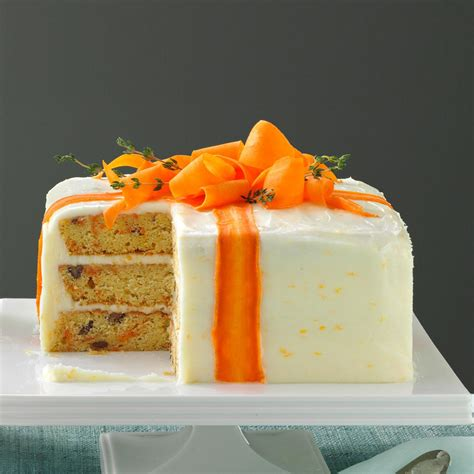 love these quick and easy cake decorating ideas for church three layered carrot cake recipe taste of home