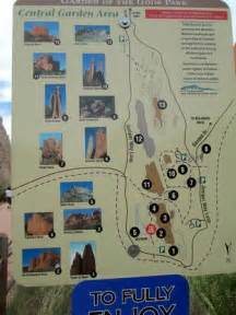 map picture of garden of the gods colorado springs