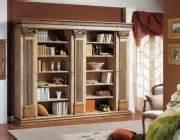 librerie bianche classiche arredamento classico per la casa arredo classico