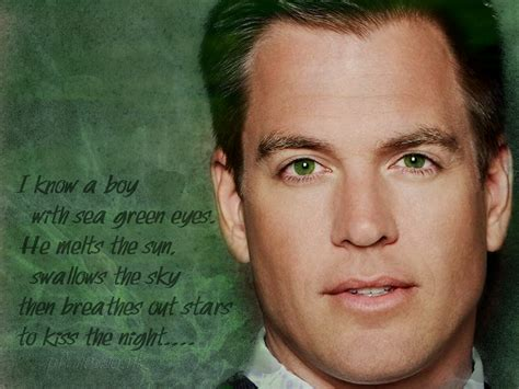 Michael Weatherly images Green Eyes . HD wallpaper and