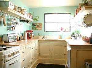 cute style kitchen:  tiny eclectic kitchens that will leave you craving organization