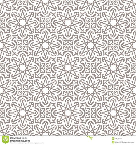 arabic seamless pattern arabic seamless ornament stock vector image 39795007