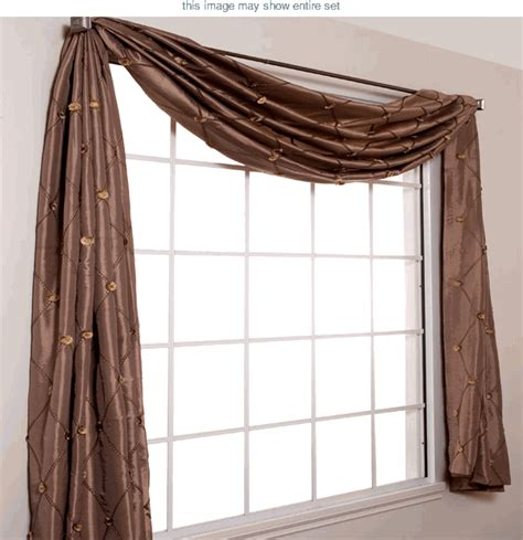 how to drape a scarf valance curtains scarfs draperies curtain design