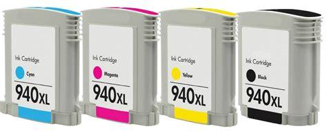 Tinta Hp 940xl Magenta Color Original Cartridge 4pk 940xl c4906a black c4907a cyan c4908a magenta c4909a yellow ink cartridges ebay