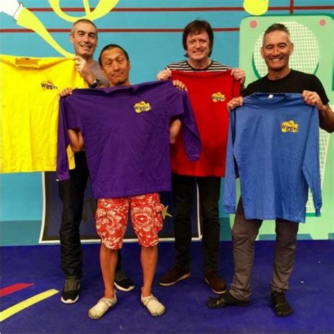Hangout 2016 Original Dvd the wiggles original lineup reunited for charity and were