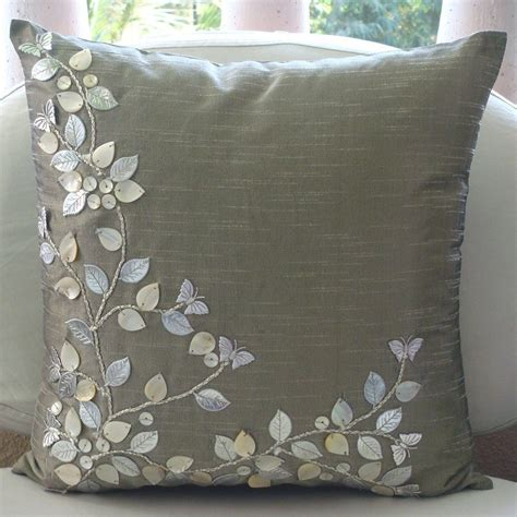 24 inch couch pillows decorative pillow sham covers 24 inches silk accent pillow