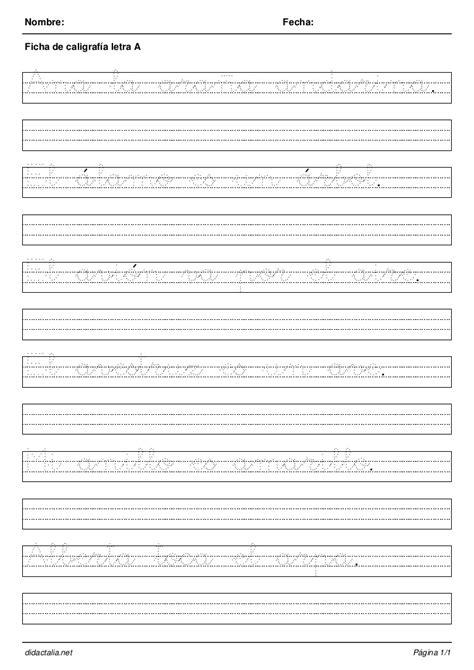 cuaderno de escritura 4 cuaderno de caligrafia todas las letras