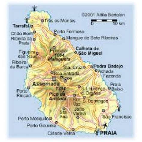 cabo verde ilha de santiago ilha de santiago cabo verde