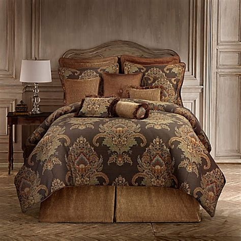 rose tree bedding discontinued rose tree bayonne comforter set in brown bed bath beyond