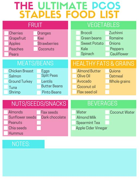 whole grains pcos pcos diet and nutrition foods tips and printables