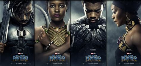 letitia wright character black panther 11 new black panther character posters that will get you