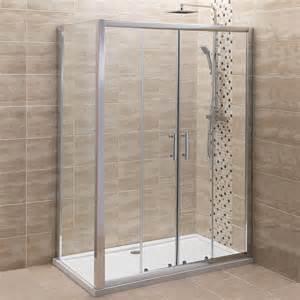 Double Shower Door by Milano 1600 Double Sliding Shower Door