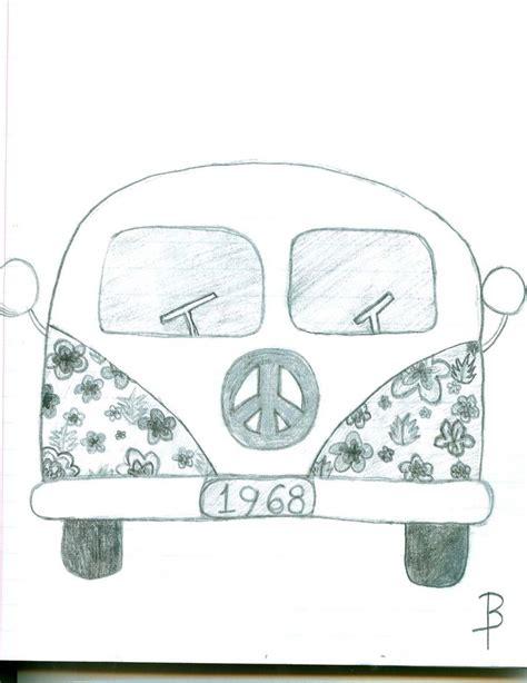 hippie van drawing 8 best images of cute hippie drawings wild spirit quotes