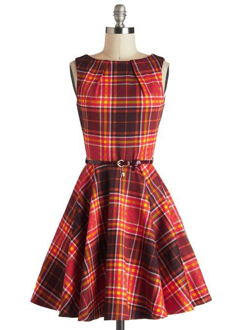 paid dress plaid dress dressed up