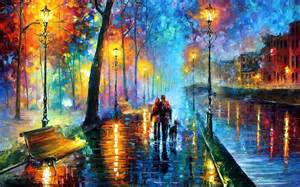 Metal Butterfly Bench Leonid Afremov S Modern Impressionistic Paintings Hd