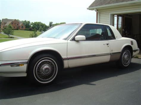 1991 buick riviera for sale buy used 1991 buick riviera luxury coupe 2 door 3 8l white