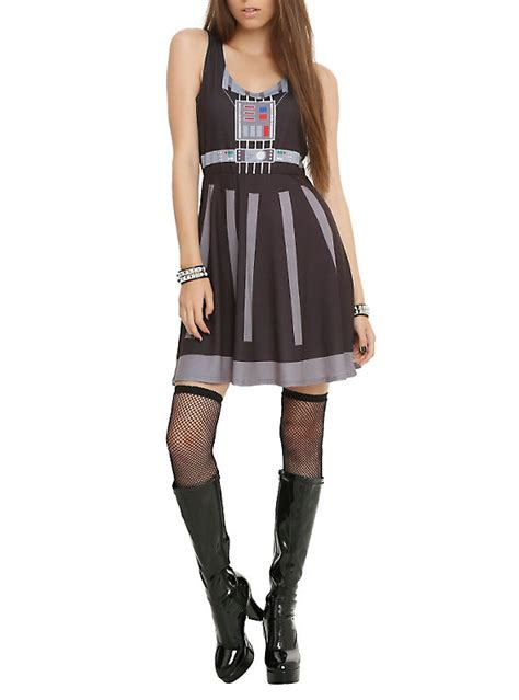 Where Can I Buy A Hot Topic Gift Card - star wars her universe darth vader dress hot topic