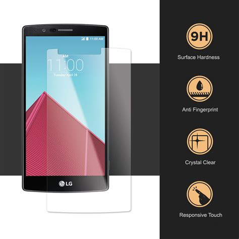 Xpro Tempered Glass Lg G4 Clear 9h tempered glass screen protector lg g4 clear
