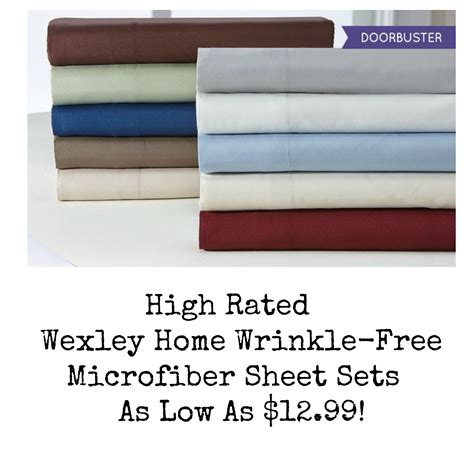 top rated sheet sets hot wexley home wrinkle free microfiber sheet sets as