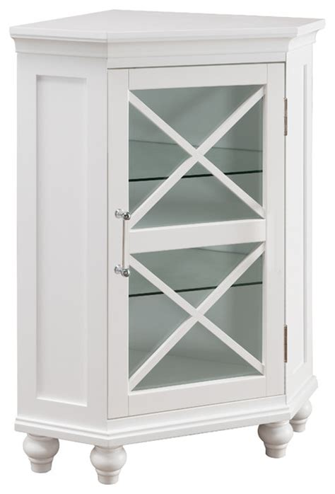 home fashions blue ridge corner floor cabinet
