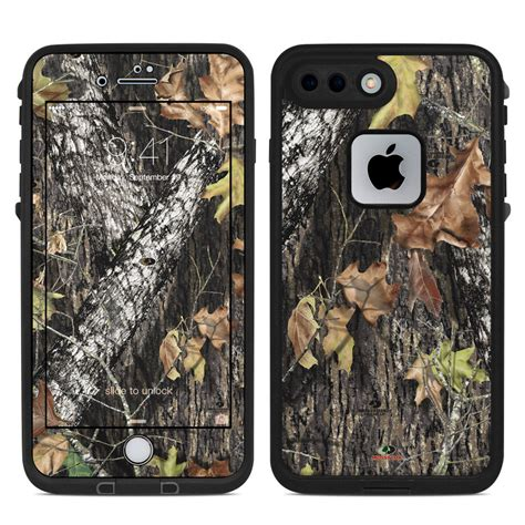 lifeproof iphone   fre case skin break   mossy