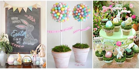 homemade easter decorations for the home easter decorations 20 diy easter decorations to make
