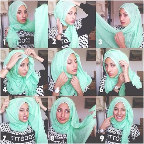 hijab tutorial quick the classic yet i didnt know how to do it until now