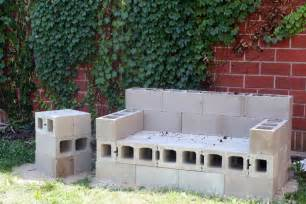 cinder block furniture backyard diy outdoor sofa that will last a lifetime