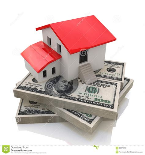 home design money house on money stock photos image 35278733