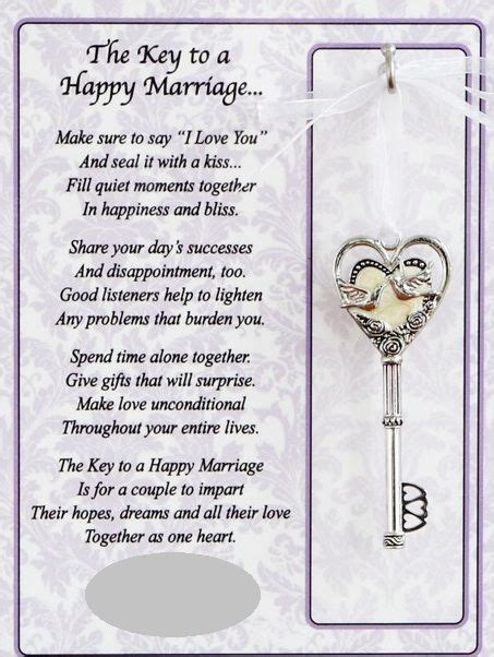 Marriage Quotes Key by Key To Happy Marriage Quotes Quotesgram