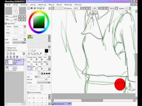 paint tool sai 2 animation dibujo anime paint tool sai